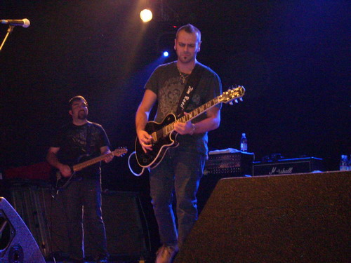 Matteo Filippini with Blue Oyster Cult at Trezzo (MI) 2008