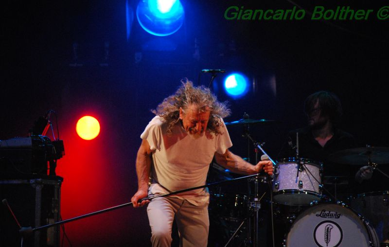 Robert Plant at Pistoia Blues 2014