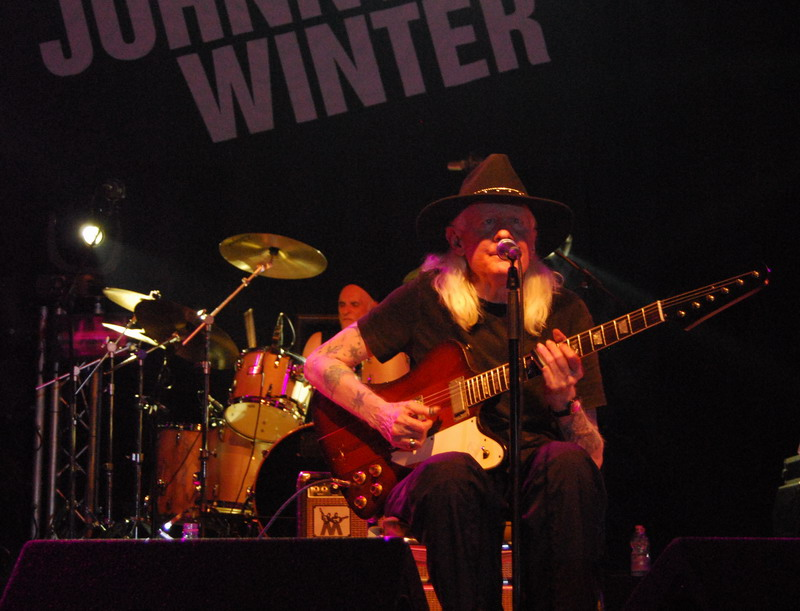Johnny Winter al Live Club - Trezzo 2010